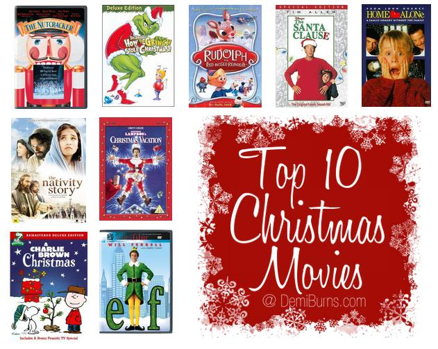 my top 10 favorite christmas movies - Christmas Movies 2013