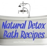 7 At Home Detox Bath Recipes