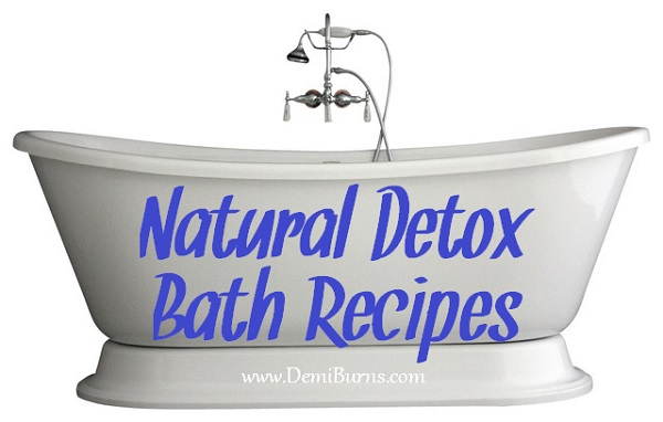 Natural Detox Bath Recipes