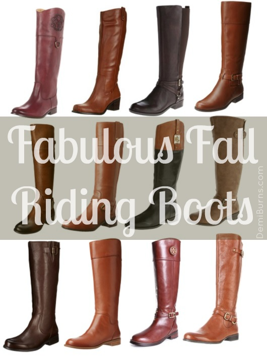 fabulous riding boots - fall fashion favorites