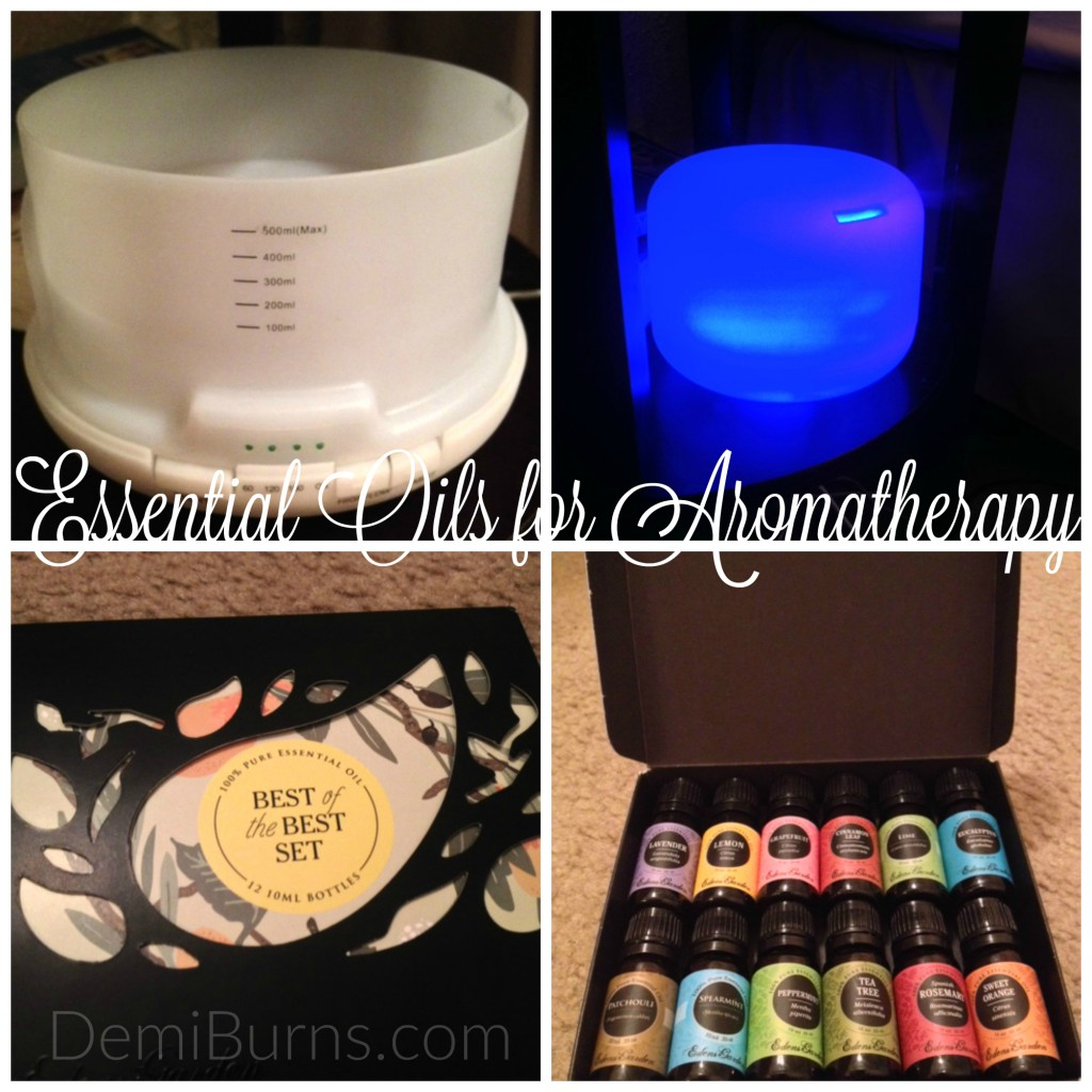 My Experience With An Essential Oil Aromatherapy Diffuser