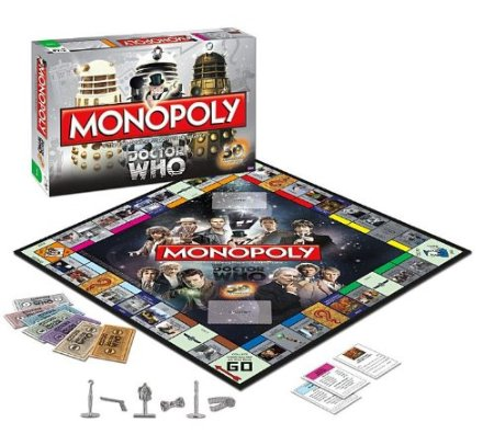 Dr. Who Monopoly 50th Anniversary Collector's Edition