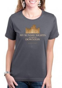 Sunday Nights at Downton T-shirt